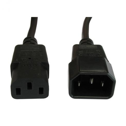 13021201 c13 male c14 female power cable